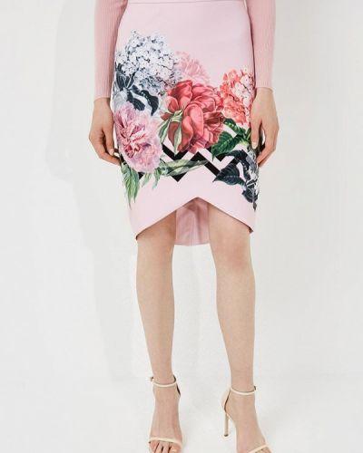 Розовая юбка Ted Baker London
