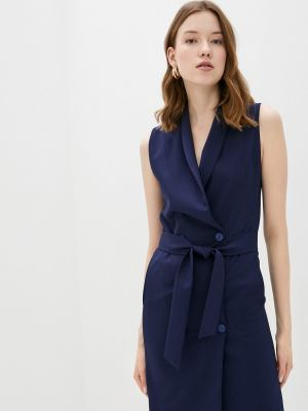 Платье платье-пиджак синее Fashion.love.story