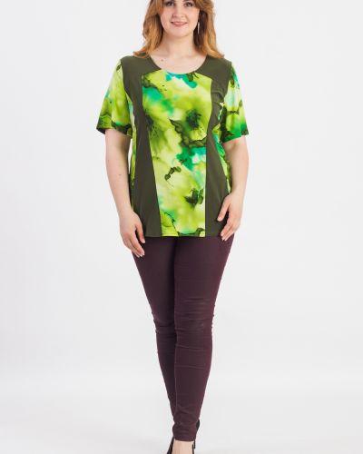 Блузка зеленый повседневная Lacywear