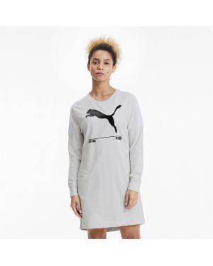 Платье в рубчик с карманами Puma