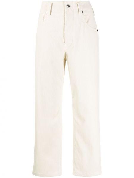 Классические прямые хлопковые укороченные брюки на молнии Sofie D'hoore