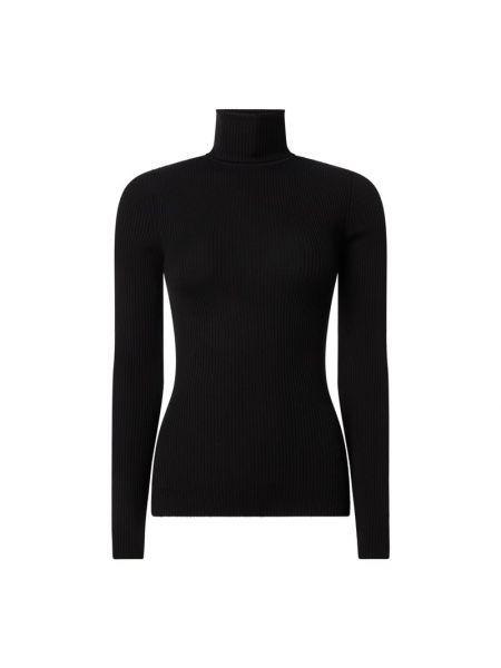Czarny sweter wełniany Wolford