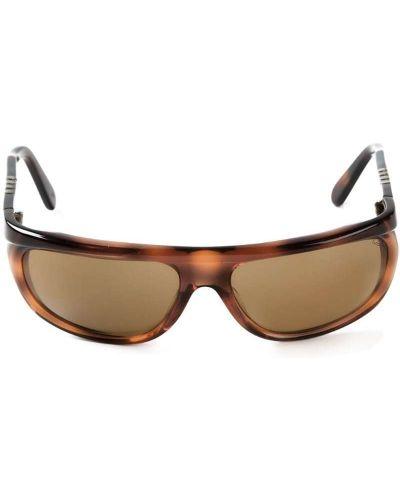 Муслиновые солнцезащитные очки квадратные Persol Pre-owned