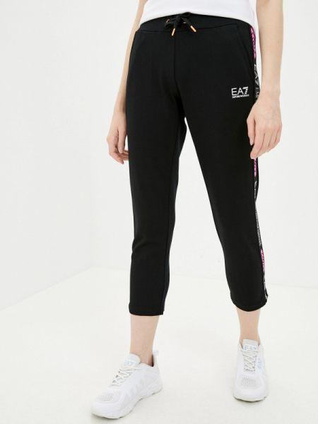 Спортивные брюки черные весенний Ea7