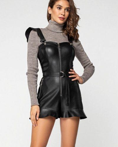 Комбинезон с шортами - черный Itelle