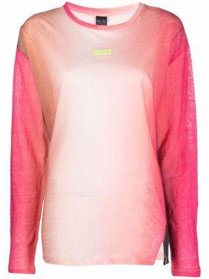 Розовая футболка с длинными рукавами P.e Nation