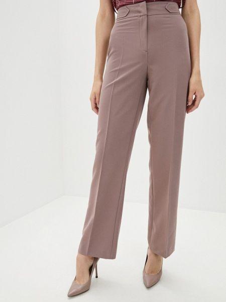 Классические брюки розовый весенний Antiga