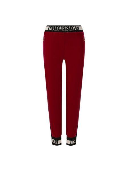 Спортивные брюки с лампасами свободные Dolce & Gabbana