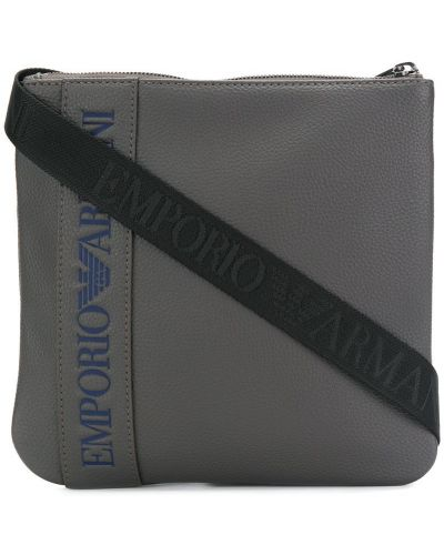 Сумка на плечо из полиэстера с логотипом Emporio Armani