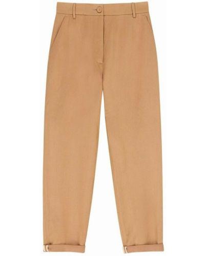 Beżowe spodnie Momoni