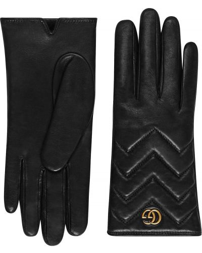 Перчатки - черные Gucci