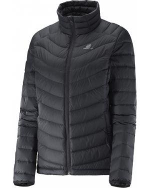 Куртка черная пуховый Salomon