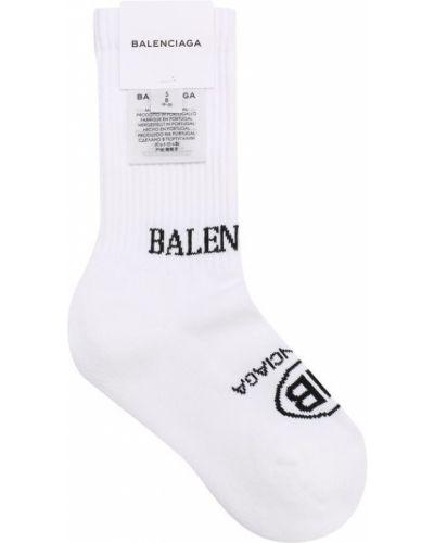Носки однотонные эластичные Balenciaga