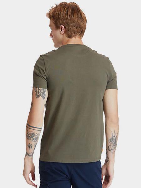 Зеленая футболка Timberland