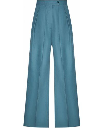 Свободные брюки с защипами расклешенные Acne Studios