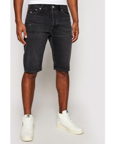 Czarne szorty jeansowe Tommy Jeans