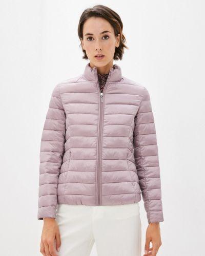 Теплая розовая куртка снежная королева