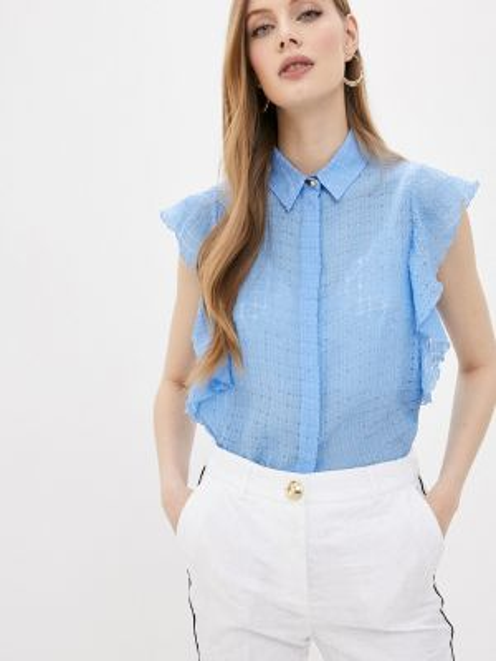 Блузка - голубая Cavalli Class