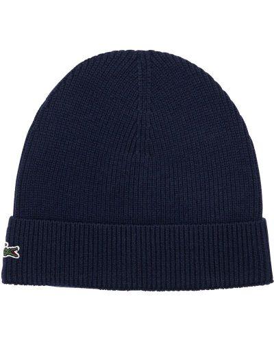 Шерстяная шапка Lacoste