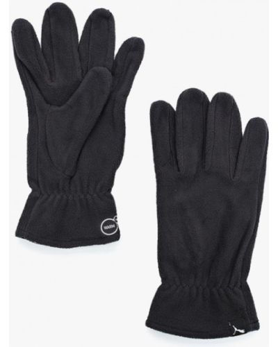 Серые перчатки Puma
