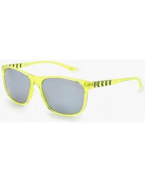 Муслиновые желтые солнцезащитные очки Puma
