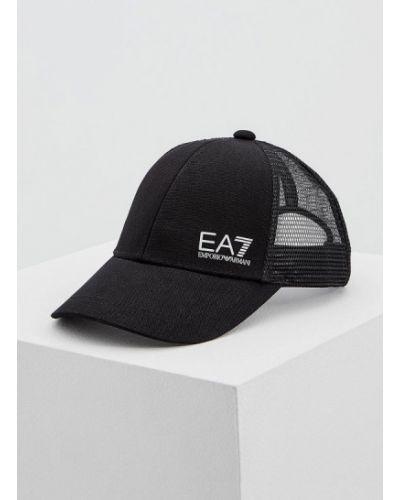 Черная кепка Ea7