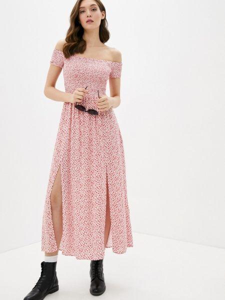 Платье с открытыми плечами весеннее Befree