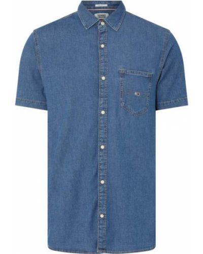 Koszula jeansowa krótki rękaw - niebieska Tommy Jeans