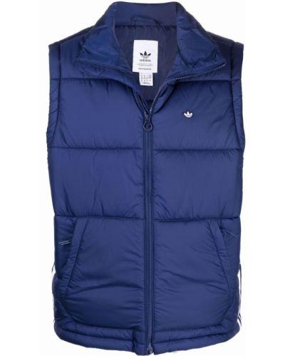 Дутая жилетка - синяя Adidas