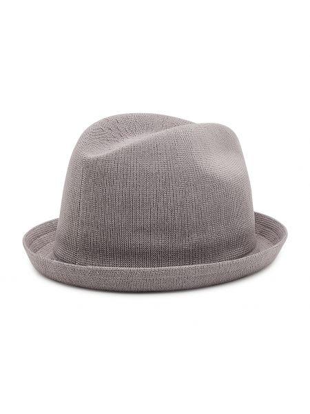 Szara czapka z daszkiem Kangol