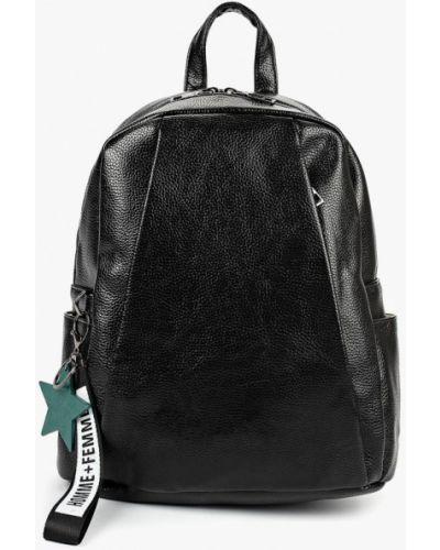 Черный рюкзак городской Ors Oro