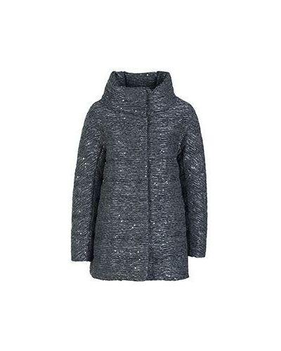 Зимняя куртка демисезонная серая Herno