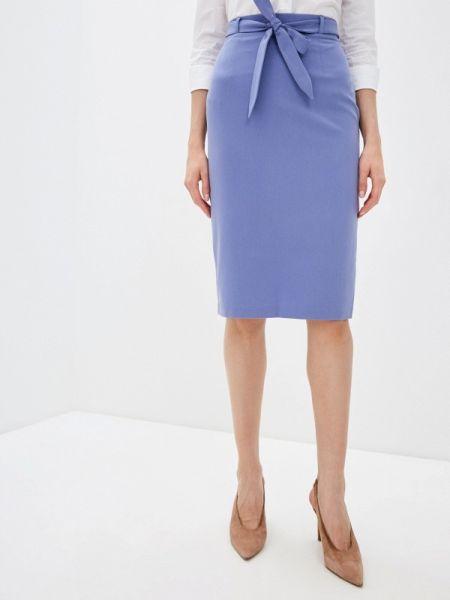 Юбка широкая фиолетовый Fashion.love.story
