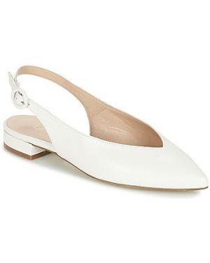 Białe balerinki Fericelli