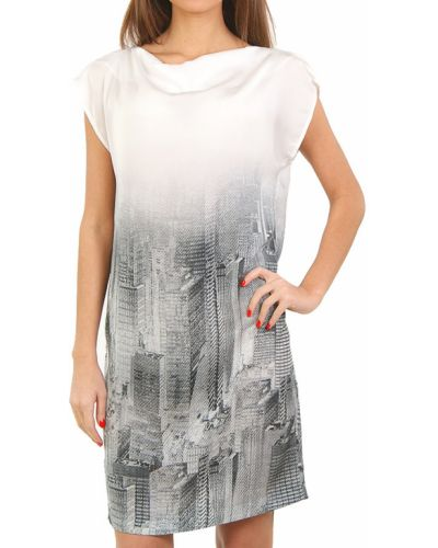 Платье весеннее серое Cerruti 18crr81