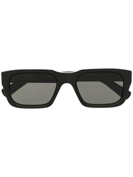 Прямые муслиновые черные солнцезащитные очки квадратные Retrosuperfuture