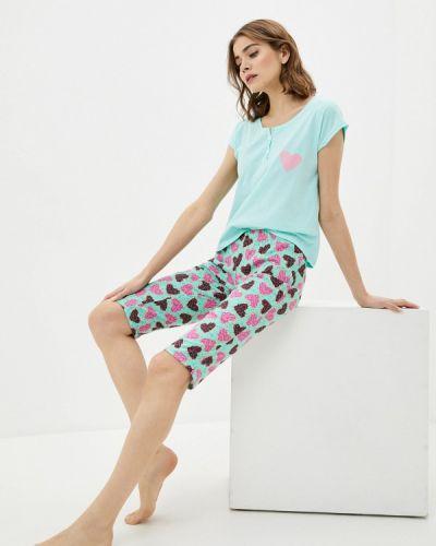 Пижамная бирюзовая пижама Tenerezza