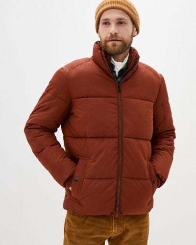 Утепленная коричневая куртка Marks & Spencer