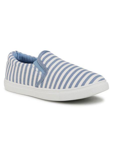 Niebieskie tenisówki Nelli Blu