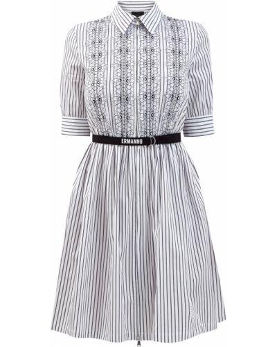 Платье с вышивкой Ermanno Ermanno Scervino