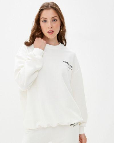 Белая свитшот B.style