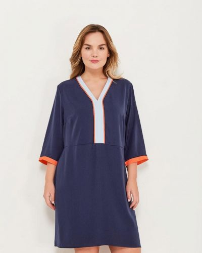 Синее платье Junarose