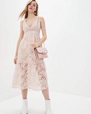 Розовое платье German Volf