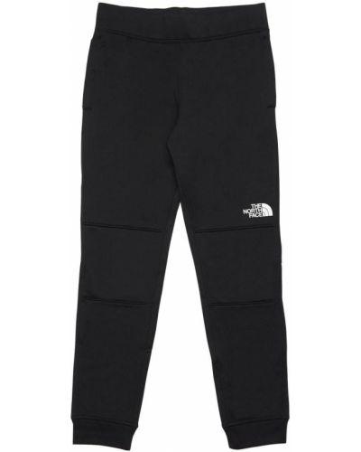 Czarny spodnie na gumce z mankietami na gumce The North Face
