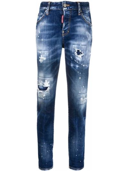 Dżinsowa jeansy Dsquared2