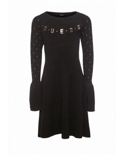 Черное платье Guess