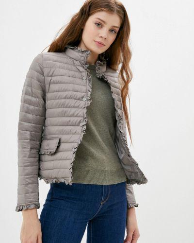 Серая теплая куртка Z-design