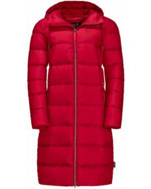 Длинное пальто пальто Jack Wolfskin