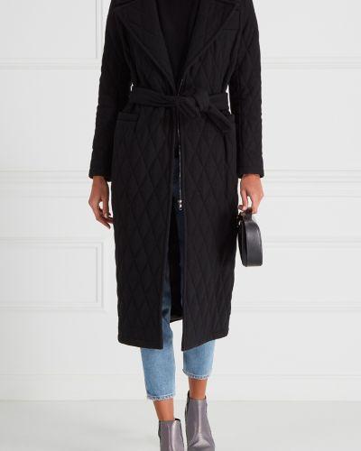 Стеганое пальто пальто-халат шерстяное I Am  Studio