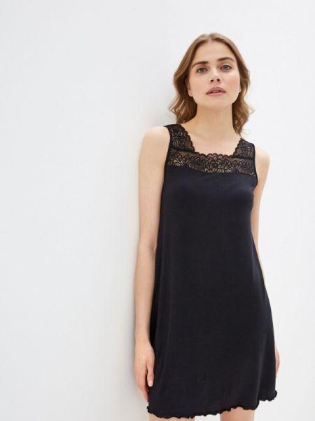 Рубашка черная Дефиле